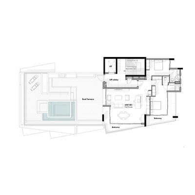 Unit 501 - Penthouse