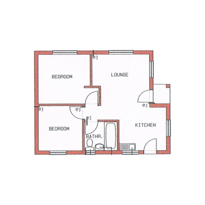 Unit Type 50sqm - B
