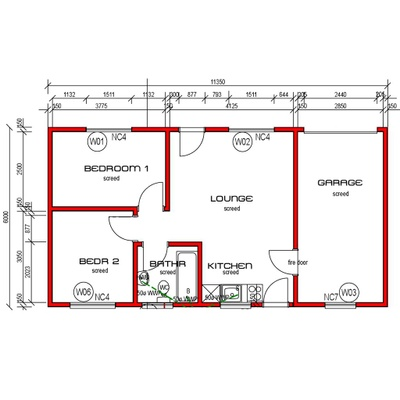 House 68m²