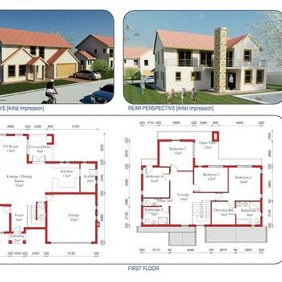 290sqm - 4 Bed / 3.5 Bath