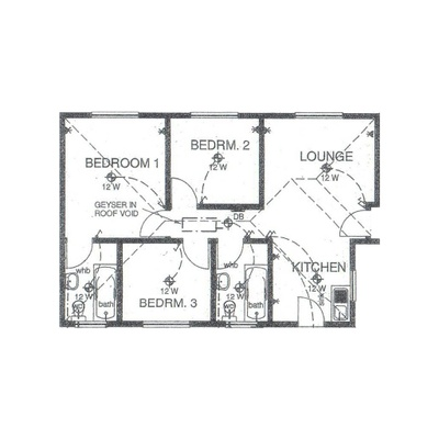 Unit Type 65sqm