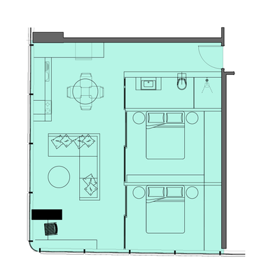 2 Bed Type 1