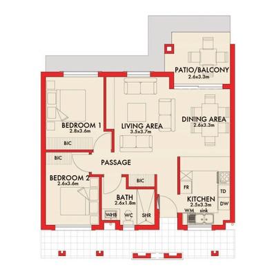 Type-B Apartments