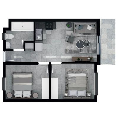 48m2 Apartment