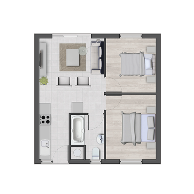 Sapphire Mews - 2 Bed