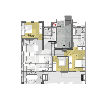 Paradiso - Type B1 corner