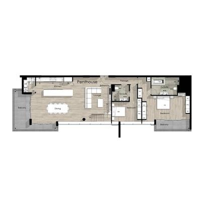 Penthouse unit - 3402