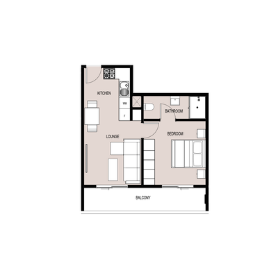1 BED TYPE B 1