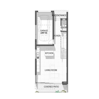 Triple Storey Homes - Block A Unit