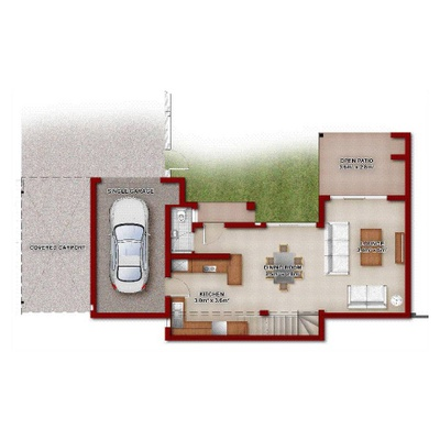 3 Bed Duplex