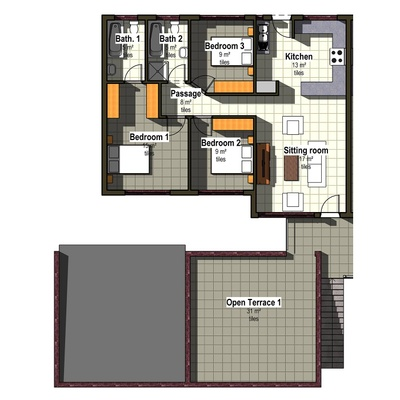 First Floor Unit