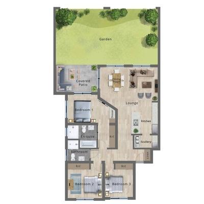 Type A - Ground floor