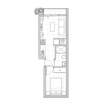 Type 2 (1 Bed)
