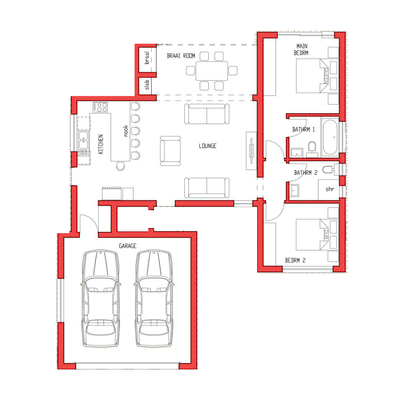 Type Hoylake - 2 Bedroom