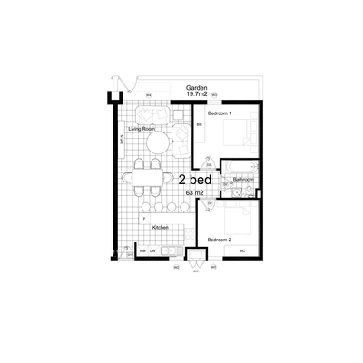 2 Bed Type 2