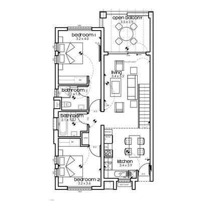 Unit Type D5 Loft