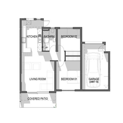 Ground Floor Apartment - Unit 15