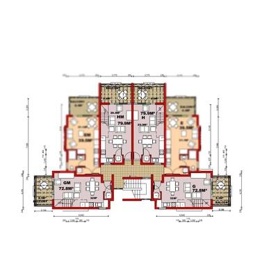 3 Storey Second Floor with Loft