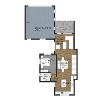 Type D - 3 Bedroom