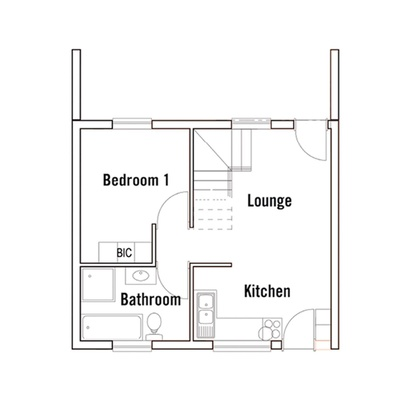 Duplex (with loft)