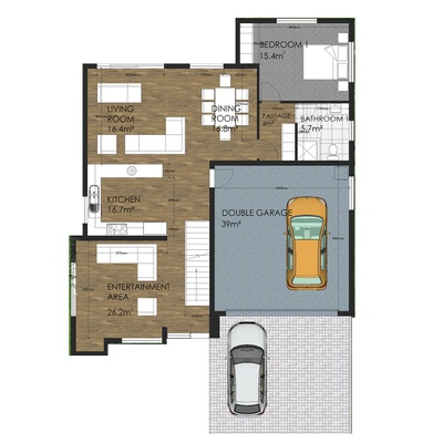 Type A - 4 Bedroom
