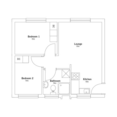 42sqm Apartment