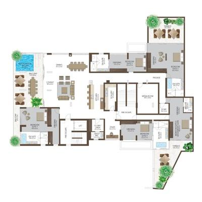 Presidential Residence 401