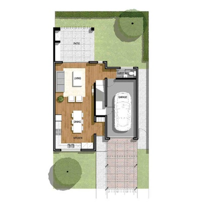 3 Bedroom Unit
