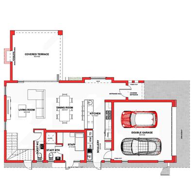 Type B3 (double storey)