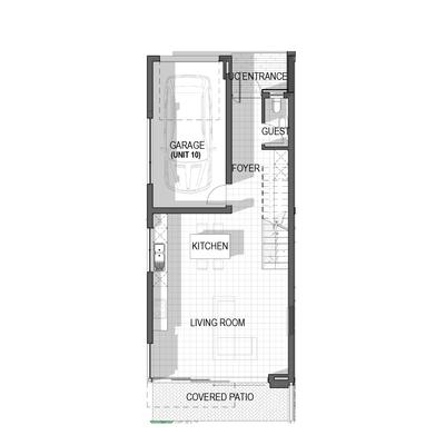 Triple Storey Homes - Block B Unit