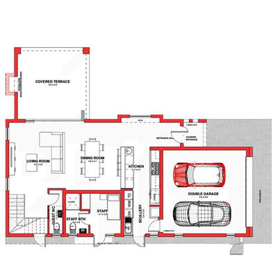 Type B6 (double storey)