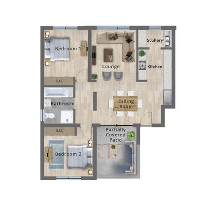 Type C - Top floor