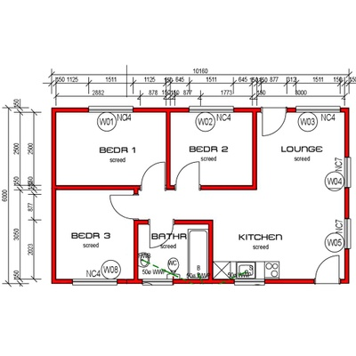 House 61m²