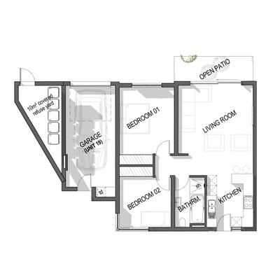 Ground Floor Apartment - Unit 19