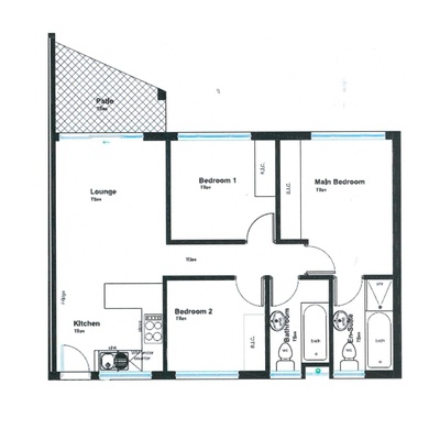 3 Bedroom Units