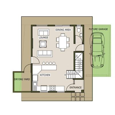 Plan 100 - 3 Bedroom