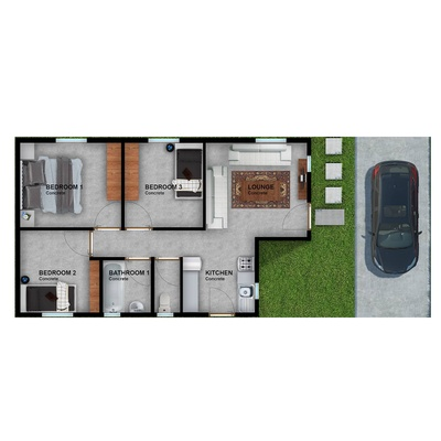 55sqm option 1