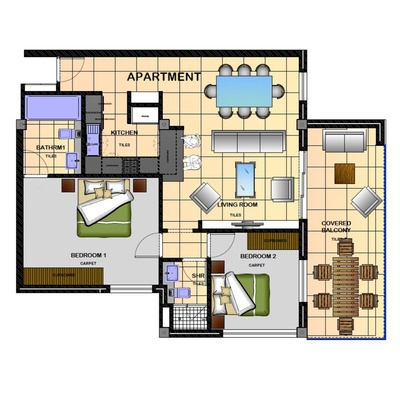 83sqm Unit - Option 2