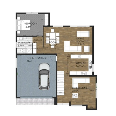 Type C - 4 Bedroom
