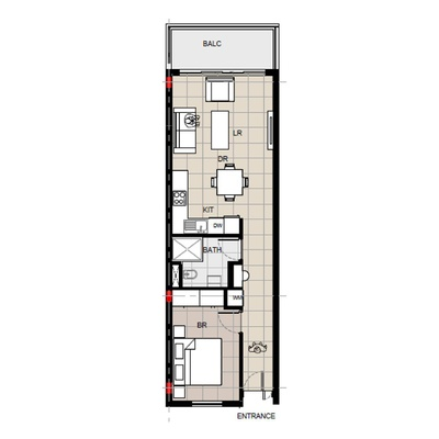 1 Bedroom Unit