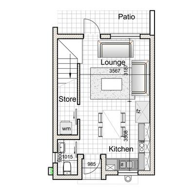 2-Bed Duplex