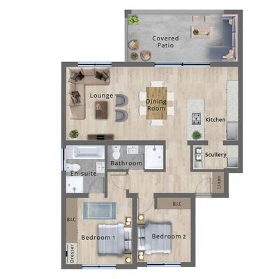 Type B - 1st floor
