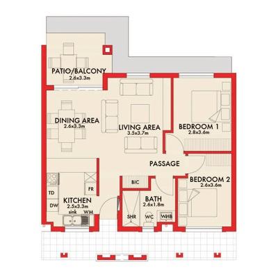 Type-C Apartments