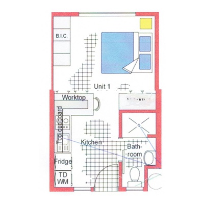 Apartment Example Floor Plan