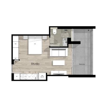 Studio unit - 1318