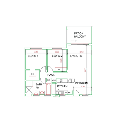 Apartment 2H