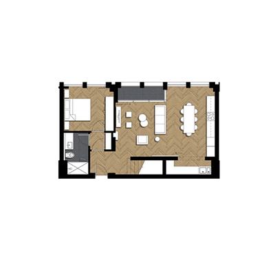 2 Bed Duplex Pent