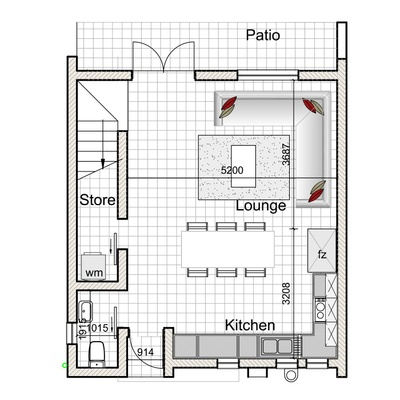 3-Bed Duplex