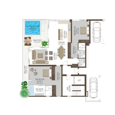 Luxury Residence 601