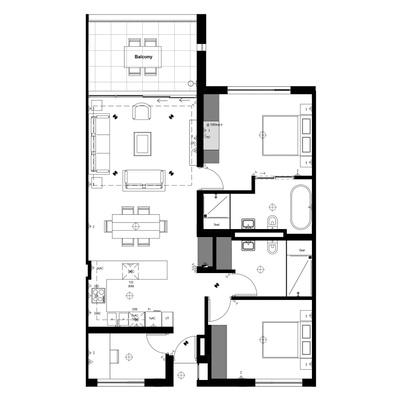 Apartment J/K